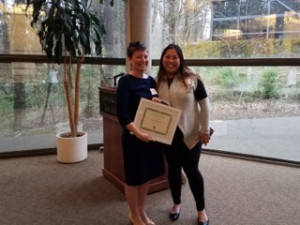 Sarah Einowski and Tracey Than at the 22nd Annual Mentor Awards