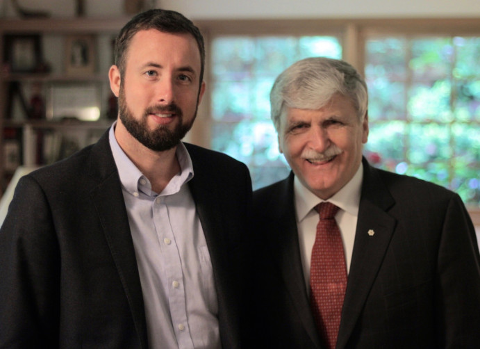 Michael Graham and Roméo Dallaire, 2013