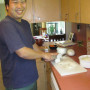 Yusuke cooks a Japanese curry dinner for his Community Friends.