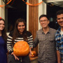 Carving competition winner! -2015 Pumpkin Carving Party
