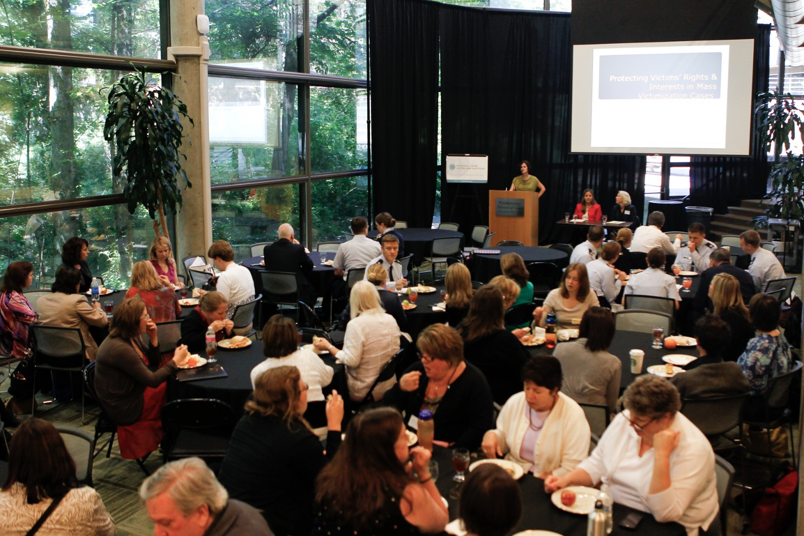 More than 200 attorneys, advocates, and other victim law practitioners from around the country attended NCVLI's 12th Annual Crime Victim Law Conference in June 2013 at Lewis & Clark Law School.