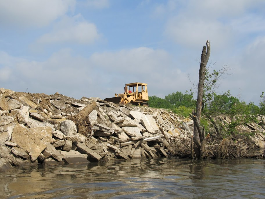 """They took a beautiful river and buried it in concrete,""  says Waterkeeper Art Norris, who le..."