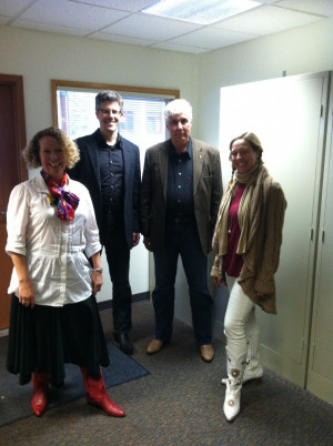 Sylvia Sissel, David McKelvey, Michel George, and Vanessa Holmgren