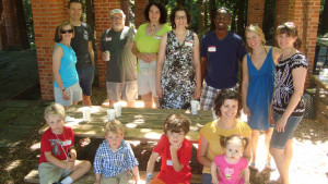 Photo taken at the 2013 Lewis & Clark Kids and Families potluck and pool party.