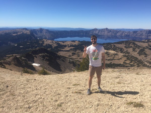 Michael visited Crater Lake earlier this month.