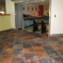 Templeton's old loop carpet was replaced with new carpet, tile, and wall base. This project com...