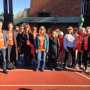 The 2012 Turkey Trot brought staff together from all three schools.