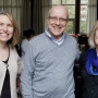 Left to right: Senior Associate Dean of Admissions Erika Quiggins, Dean of Spiritual Life Mark Du...
