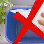 Plastic bags should not go in blue bins on campus. Plastic bags are a serious problem for recycli...