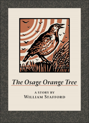 Dennis Cunningham  Untitled, cover print for The Osage Orange Tree  2013  Reduction linocut on pa...