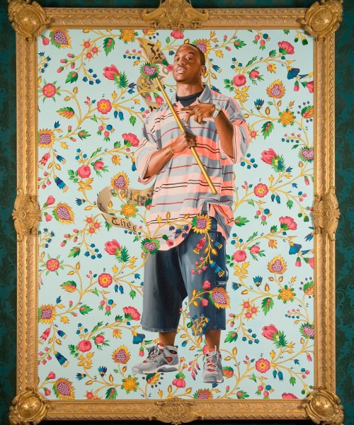 Kehinde Wiley St. John the Baptist II (Columbus) 2006 Oil on canvas 96 x 72 inches The Nasher Mus...