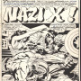 Jack Kirby, Captain America 211, page 1, 1977, © and TM Marvel and Subs., Inker: Mike Royer, Pen...