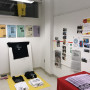 Center for Undisciplined Research archive installed in Roz Crews' faculty office at the Universit...