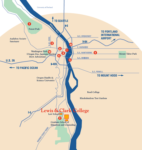 Things to Do …in a 10-Mile Radius - Portland - Lewis & Clark on