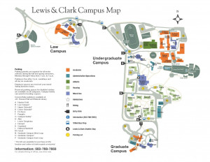 New, Improved Campus Maps   The Source   Lewis & Clark
