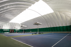 Tennis Dome Interior