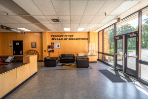 Pamplin Sports Center Reception