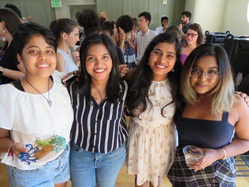 International Students and TCKs at the 2018-2019 Welcome Back Reception