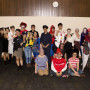 Students dressed up for Halloween and the annual ISCL Pumpkin Carving Event
