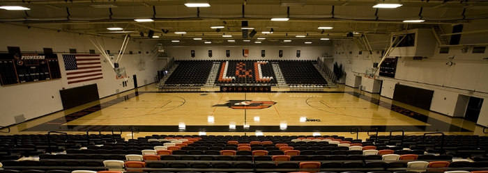 Accessible and comfortably expansive, Pamplin Gym wows the judges for your indoor sporting event.