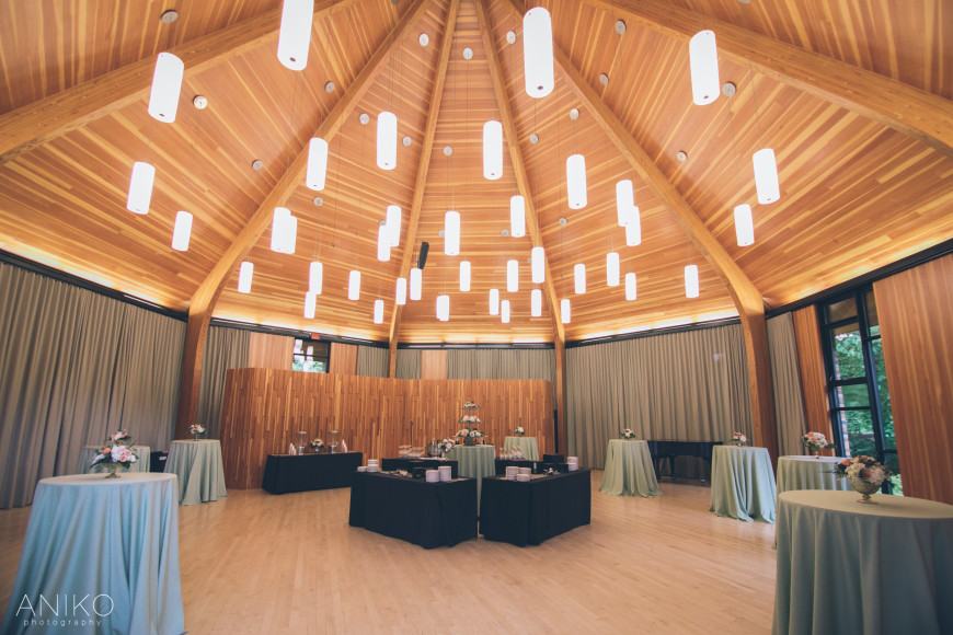 The Diane Gregg Pavilion is connected directly to the Agnes Flanagan Chapel and serves provides a...