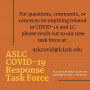 Description of the ASLC COVID-19 Response Task Force