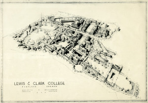 1944: The prospective campus.