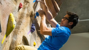 POC climb night at PSU