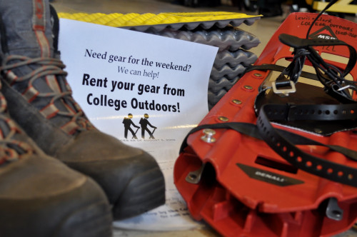 College Outdoors Gear Rental