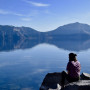 Lakeside view at Crater Lake