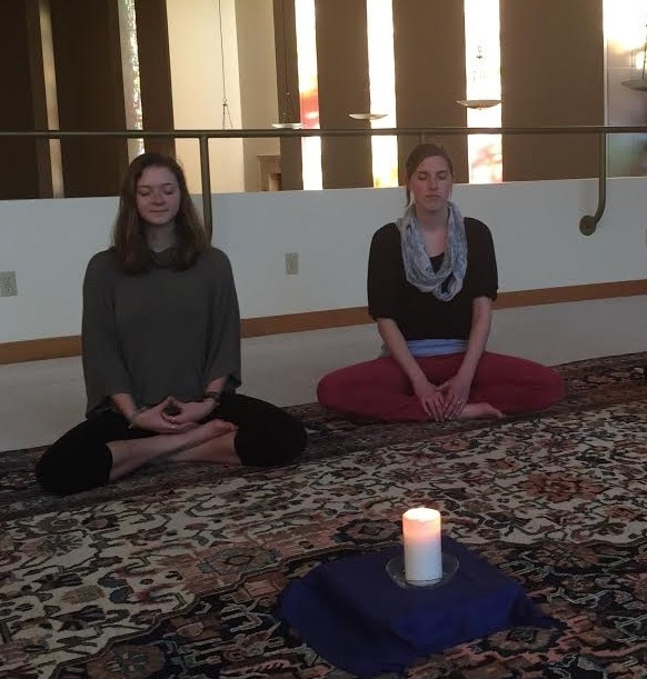 Meditation in the South Chapel