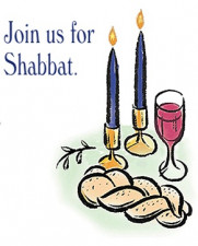 NSO Shabbat on Friday, August 30th