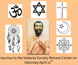Come visit and tour the beautiful forested retreat grounds of the Vedanta Society and visit shrin...