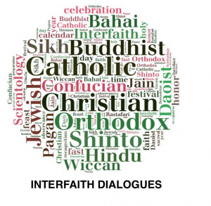 Weekly interfaith discussion opportunities on Thursdays at 12:30 p.m. in the Trail Room