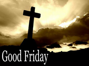 Good Friday Service on April 19th at 12:30 p.m.