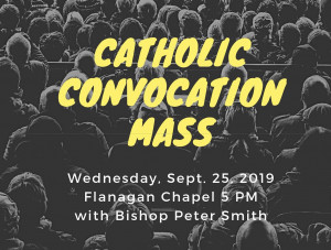 First on-campus Mass of Fall 2019