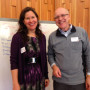 Hilary Martin Himan and Mark Duntley facilitated the spiritual and religious identities inclusive...