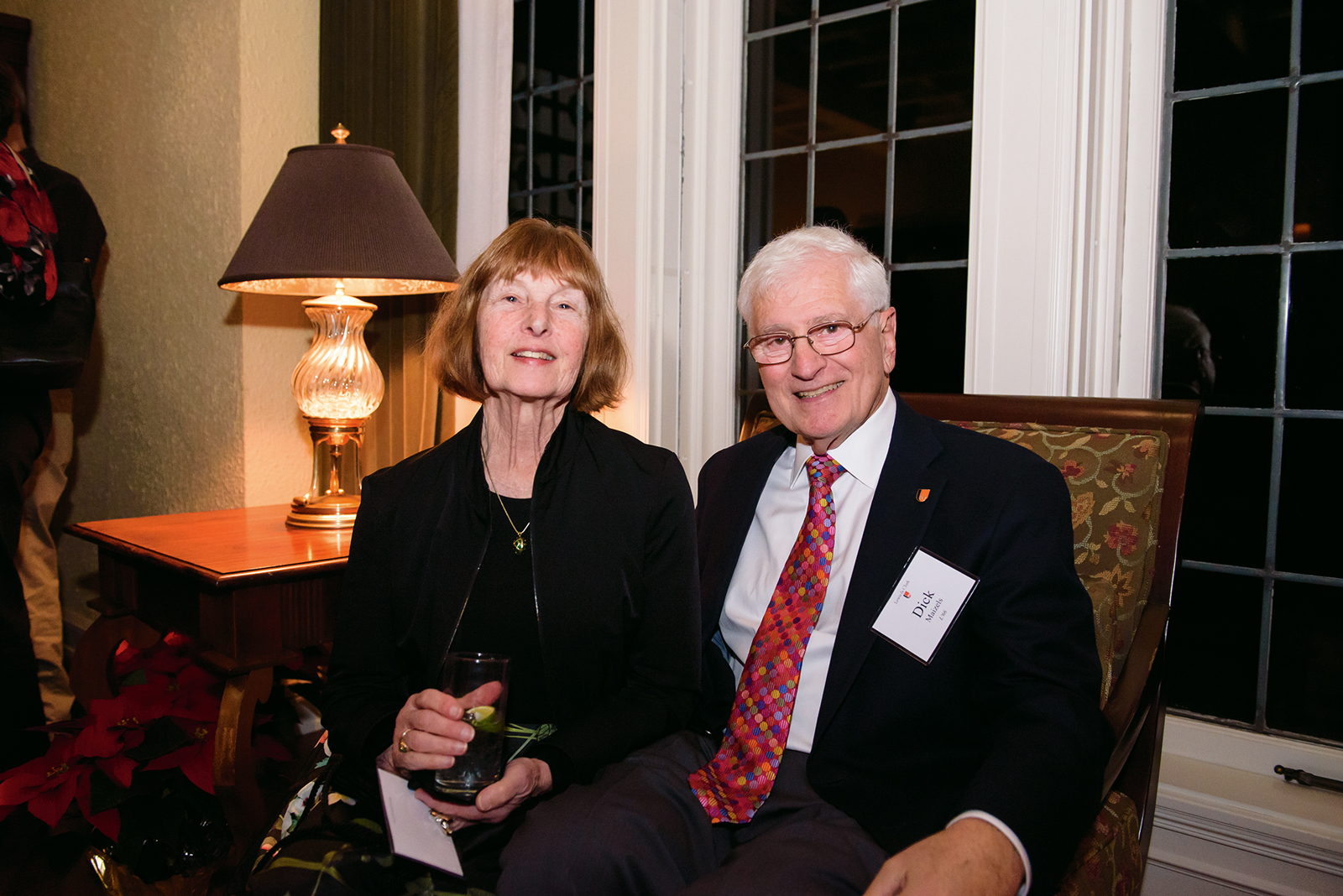 Dick Maizels JD '66 and Harriet Maizels.