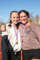 Tamma Carleton '09 and Amanda Phillips '08 both ran strong races at the West Regionals.