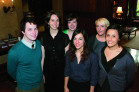 Some of this spring's Fulbright winners: Benjamin Moseley, Maelia DuBois, Ella Antell, Alyssa R...