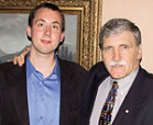 Michael Graham '05 and Lieutenant General Romeo Dallaire