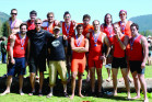 The men's crew team finished second at the 2012 NCRC Championships.