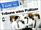 Then: Michael Arrieta-Walden as an editor at the Pulitzer Prize–winning Albuquerque Tribune in ...