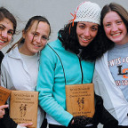 All-West Region cross country honors went to Laura Sbordone '07, Tamma Carleton '09, Carla McHatt...