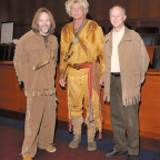 Tom Holland, who played Joe Field, stabber of a Blackfeet Indian; Roger Wendlick, who played Geor...