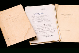 "Three of Stafford's earliest ""put-togethers"": Some of the Words We Said (August 1945), Surviv..."