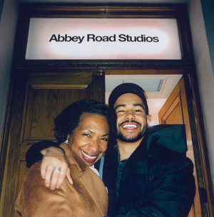 ?When you're working at Abbey Road Studios, you've gotta bring ya Mum.?