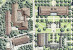 The College's master plan depicts the campus in 2003. Albany Quadrangle (bottom right) will sit d...