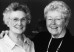 Hester Turner, former dean of women, and Barbara Wolfe Godel '51 pause to create a new memory at ...