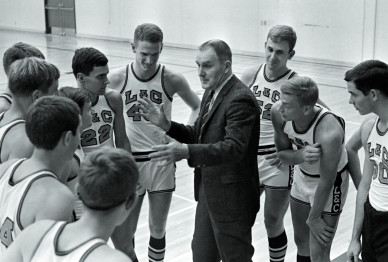 Dean Sempert B.S. '49 was Lewis & Clark's head men's basketball coach from 1963 to 1989